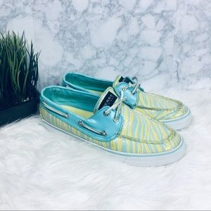 Sperry Multicolored Sequence Boat Shoes